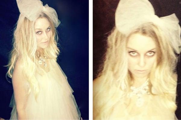 Lauren Conrad's Ghost Costume