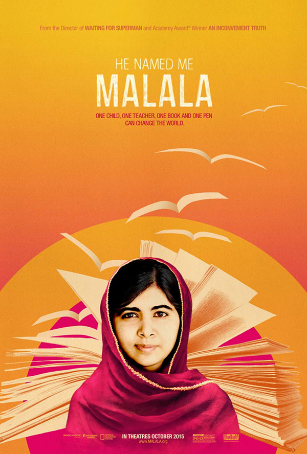 Favorite Film (He Named Me Malala, which is in theaters now)