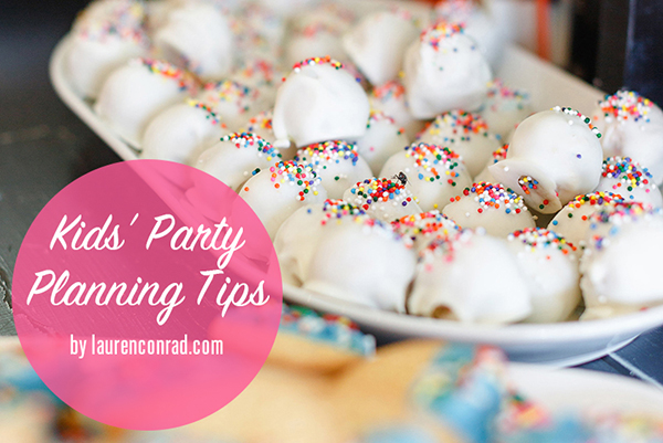Party Planning: How to Throw The Cutest Kid's Birthday Party