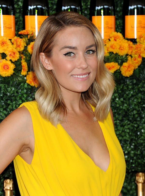 Get Lauren Conrad's look from the Veuve Clicquot Polo Classic.