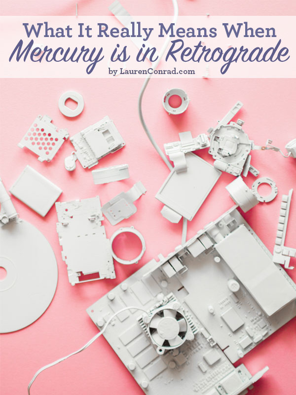 Odds & Ends: What It Means When 'Mercury Is In Retrograde'?