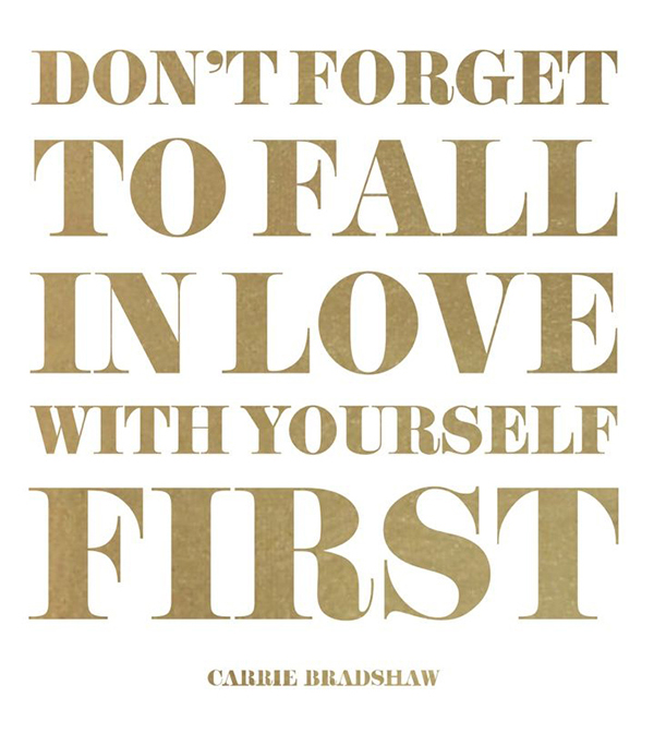 Favorite Carrie Bradshaw Quote