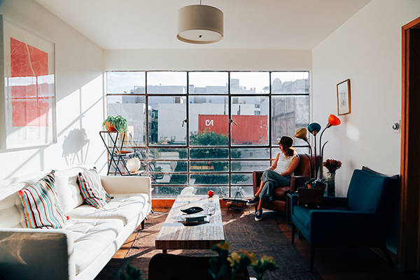 Where to stay: Airbnb has some great options, including this, the first Bauhaus-type building in Mexico City.