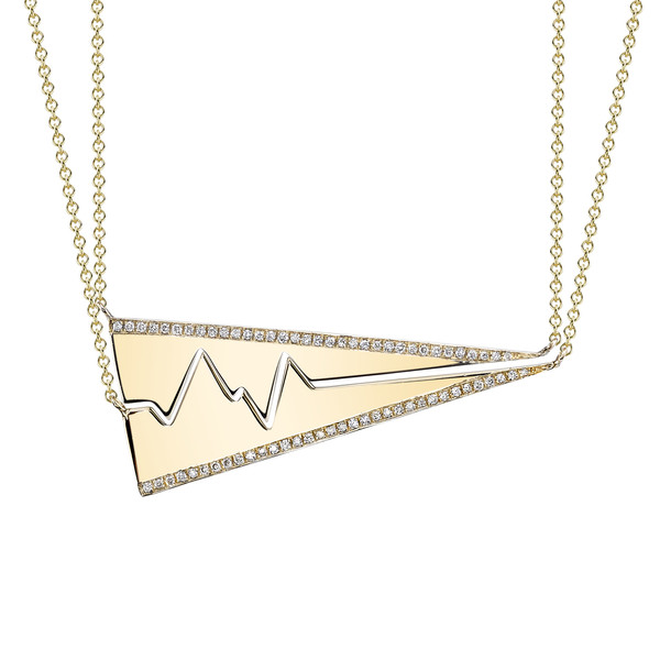 Favorite Gift For Your Bestie (these grown up Best Friend Heartbeat Necklaces by Smith + Mara)