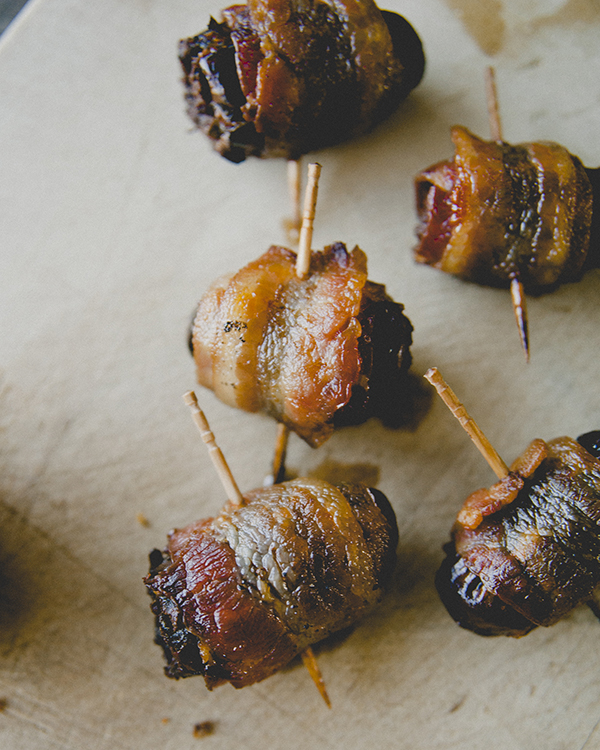 Devils on Horseback.