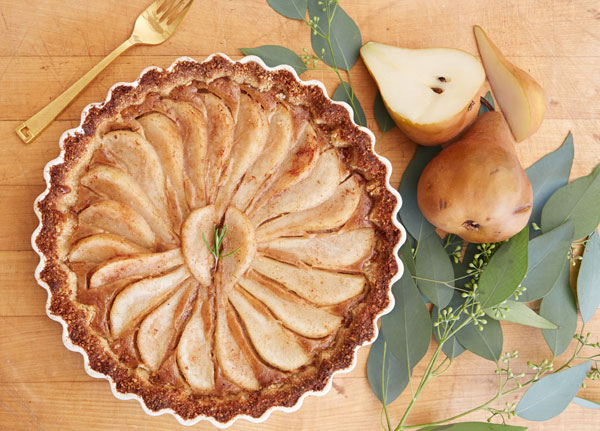 Grain-Free Pear Tart.