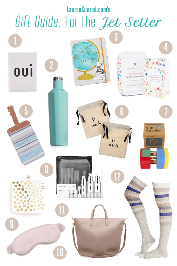 Gifts for the jet setter on your list!