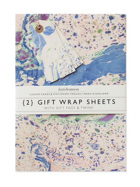 Sycamore Street Press Marbled Meadow Wrap Set