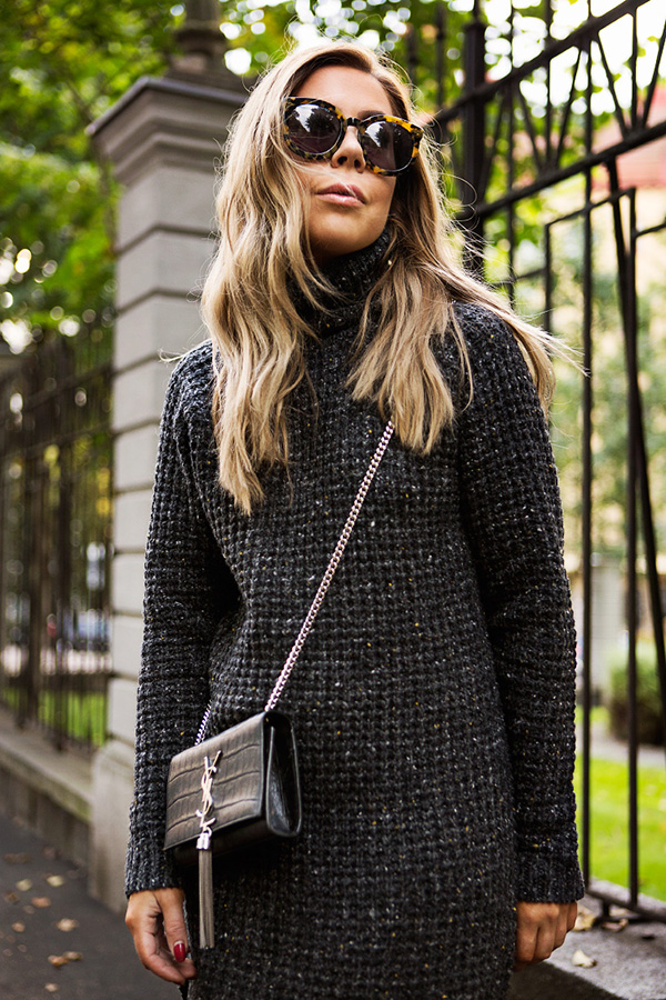 This is one perfect sweater dress!