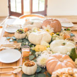 Inspired Idea: A Fall Tablescape and Pumpkin Serving Bowls