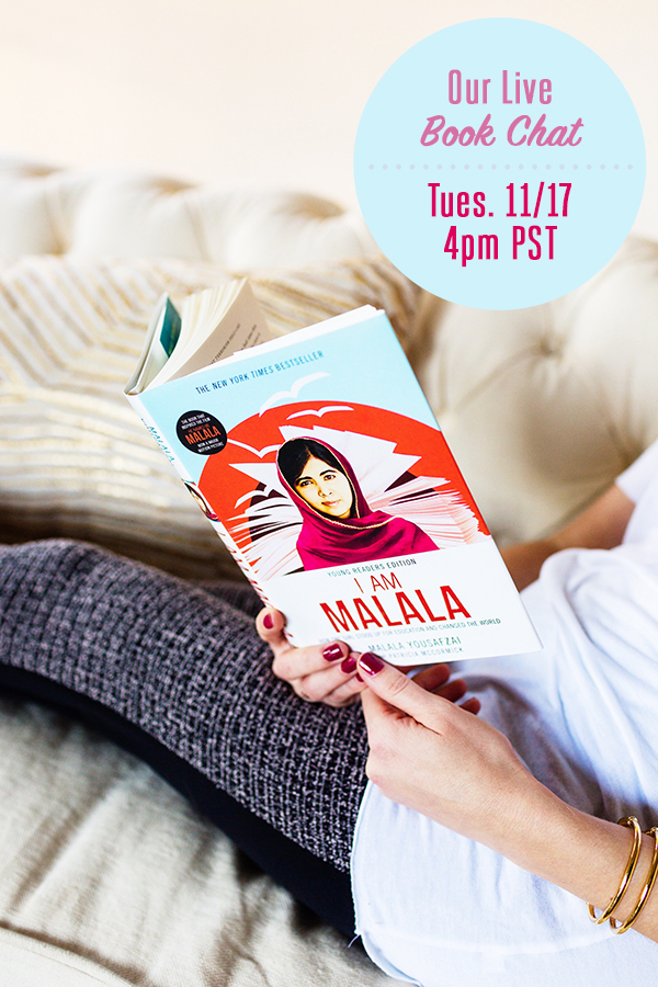 RSVP to Our Live Chat on I Am Malala