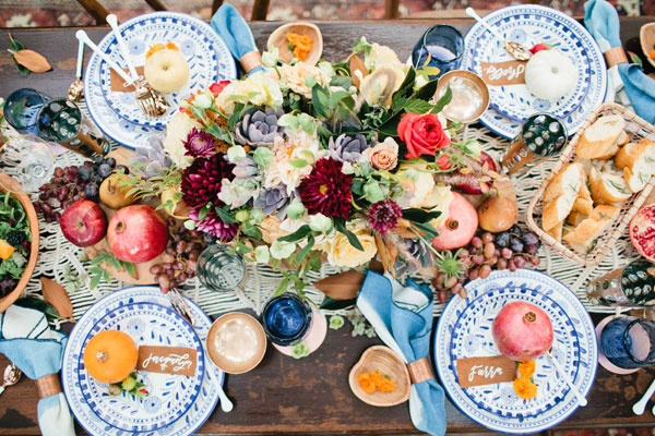 A decadent Thanksgiving spread with The Little Market.