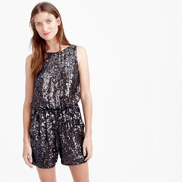 J.Crew Collection Starry Sequin Romper