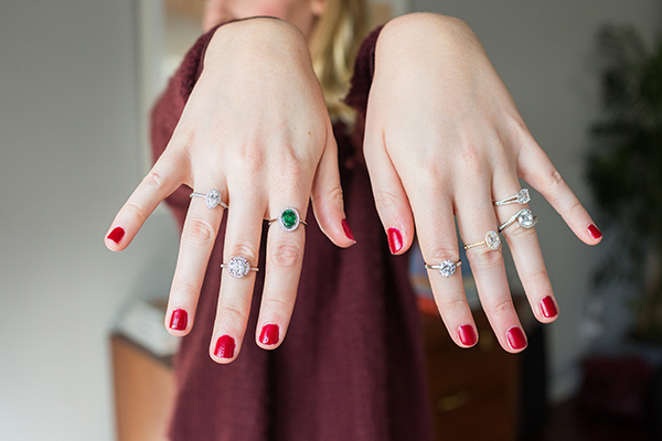 The ultimate engagement ring quiz is on LaurenConrad.com today!