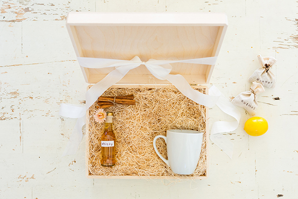 How to make your own hot toddy kit!