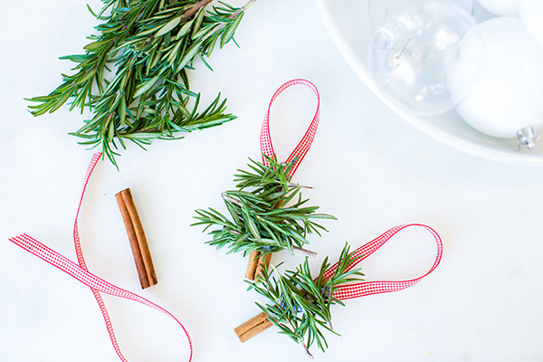 DIY holiday ornaments by LaurenConrad.com