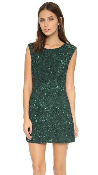 MLV Kari Beaded Open Back Dress