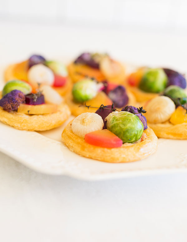 A colorful and delicious holiday appetizer recipe by LaurenConrad.com