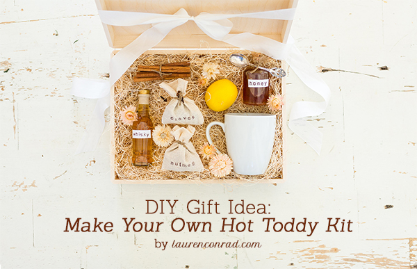 Holiday DIY: Hot Toddy Kit