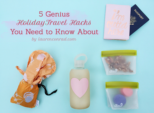 Tripping: 5 Holiday Travel Hacks