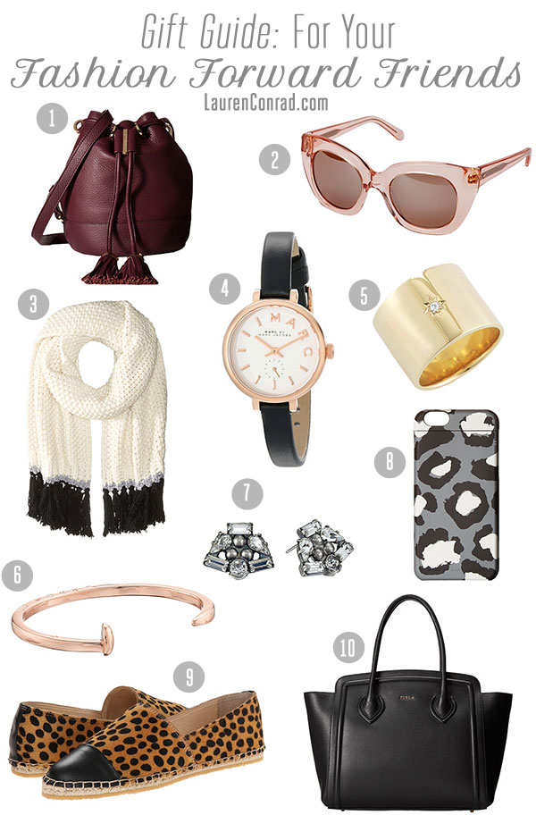 Gift Guide: For the Fashion Forward