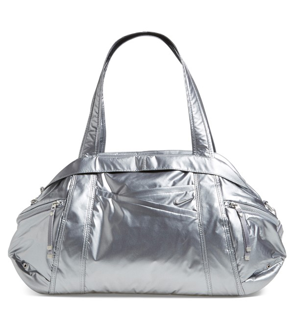 Nike Victory Gym Club Metallic Duffel Bag