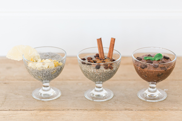 3 Chia Seed Pudding Recipes by LaurenConrad.com