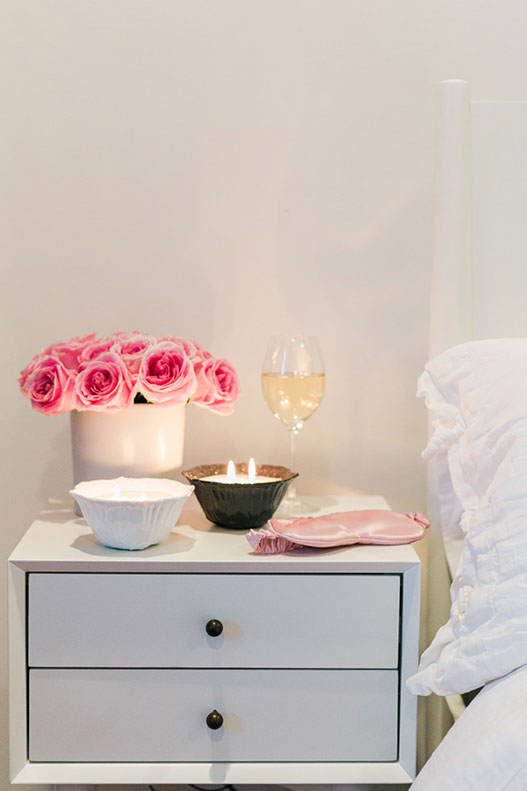 This scent combination is the perfect pair of candles to burn in your bedroom.