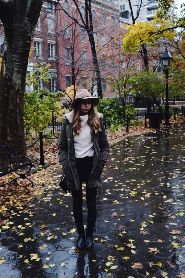 We love our Chic of the Week's anorak jacket!