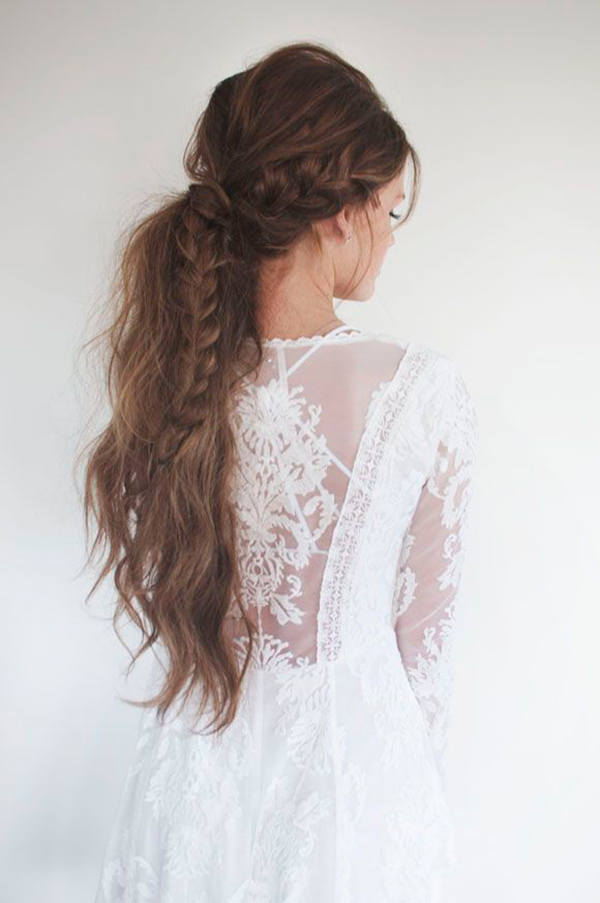 The dragon braid via Free People.