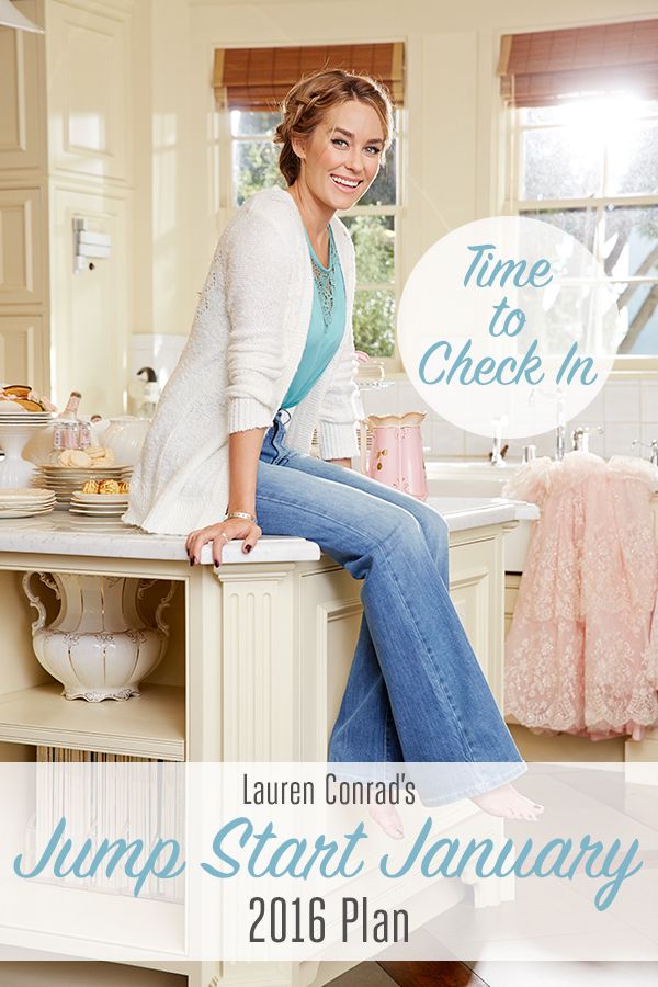 Lauren Conrad's Jump Start January Plan Check In!