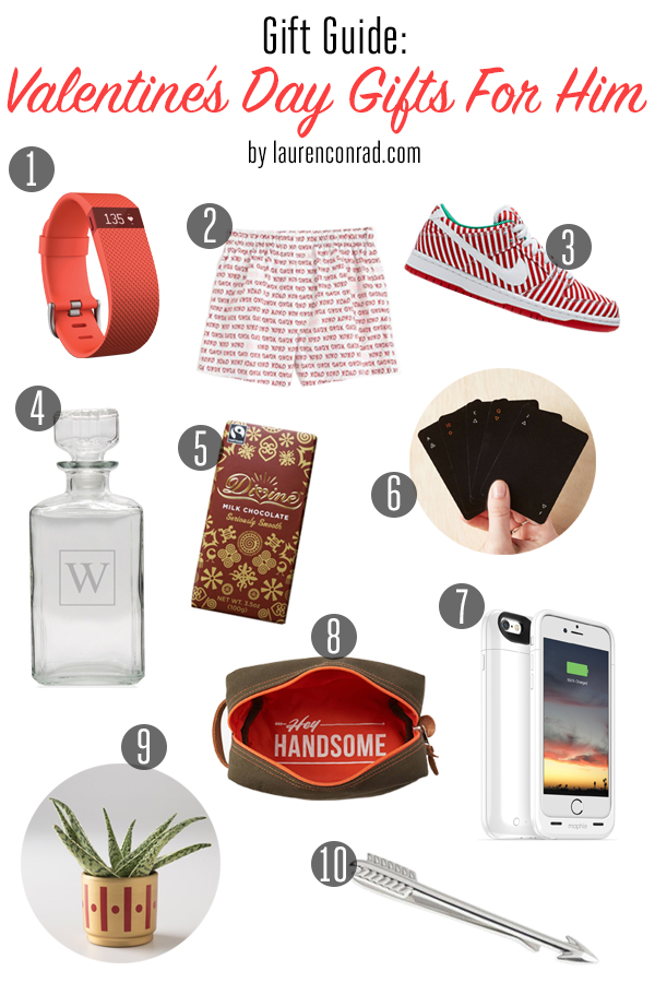 gift guide: valentine's day gifts for him - lauren conrad, Ideas