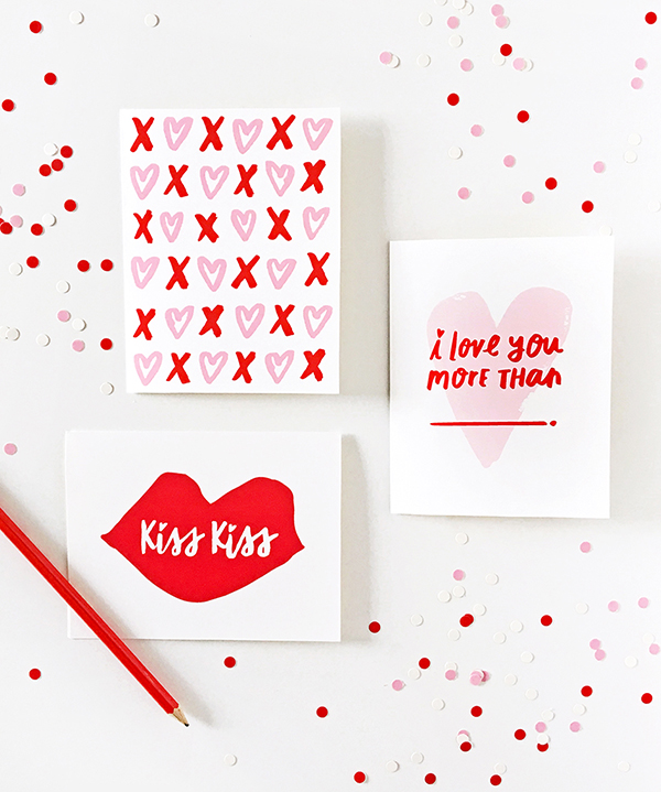 Image result for Cupid's Corner: Free Printable Valentine's Day Cards Posted by LaurenConrad.com February 3rd, 2016