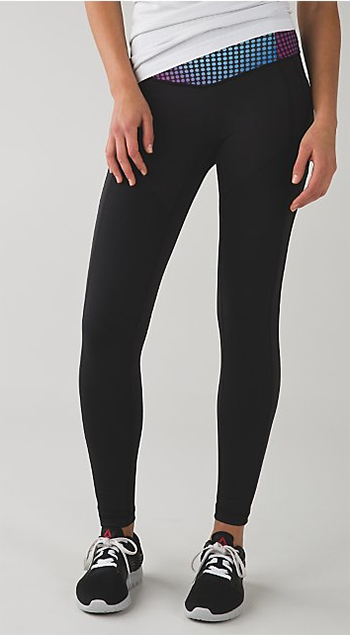 Lauren Conrad's favorite Lululemon workout leggings.