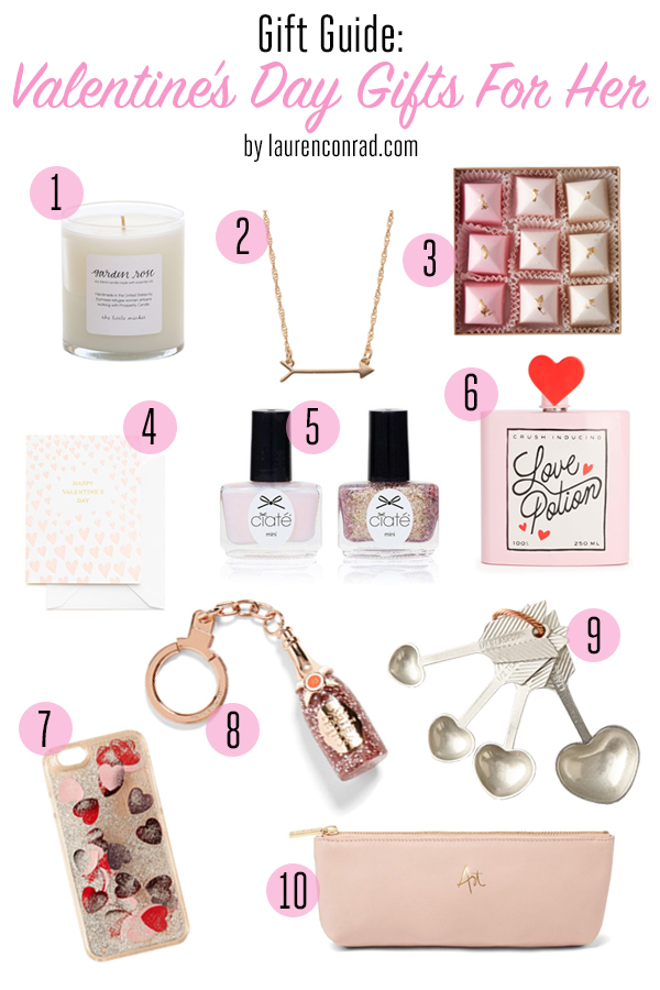 10 sweet Valentine's Day gifts for your favorite leading ladies!