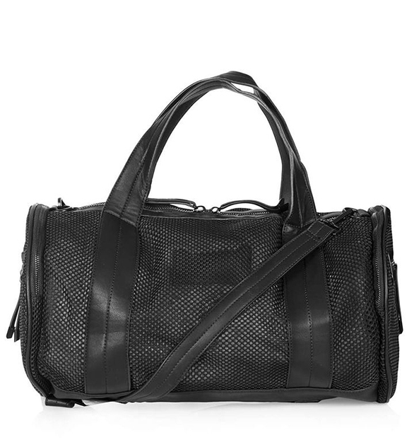 Topshop Barrell Mesh Luggage