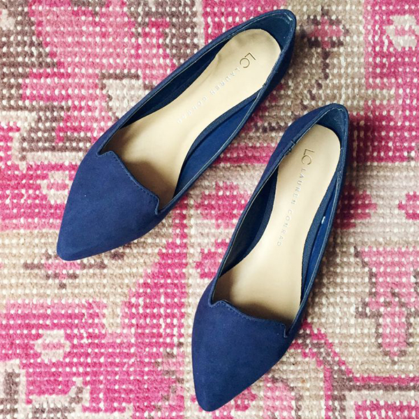 Favorite Flats (these Smoking Slippers from my LC Lauren Conrad Collection)