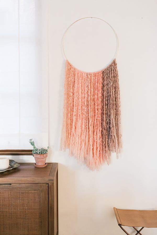 Inspired Idea Diy Gold Ring Wall Hanging Lauren Conrad