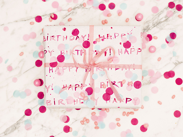 Design Your Own Wrapping Paper from Lauren Conrad's new book, Celebrate