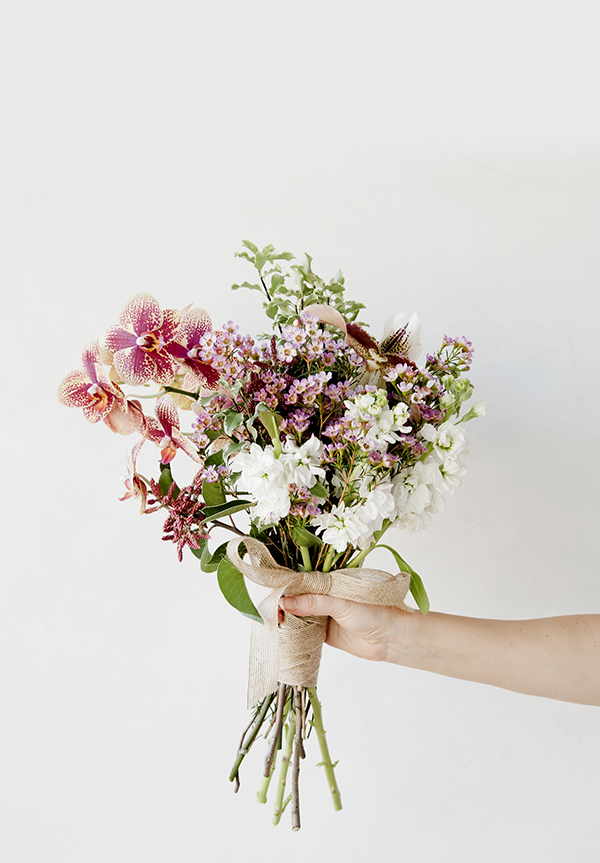 A romantic Valentine's Day bouquet by LaurenConrad.com
