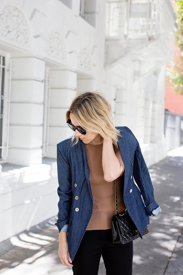 Do denim via Damsel in Dior