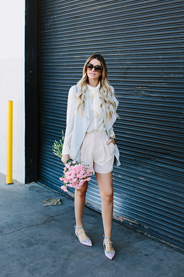 Pretty in pleats via Dash of Darling