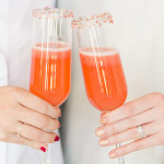 Lovely Libations: Strawberry Rosé Champagne Cocktail Recipe