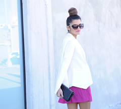 Carly, the newest Chic of the Week gives us Valentine's Day attire inspiration!
