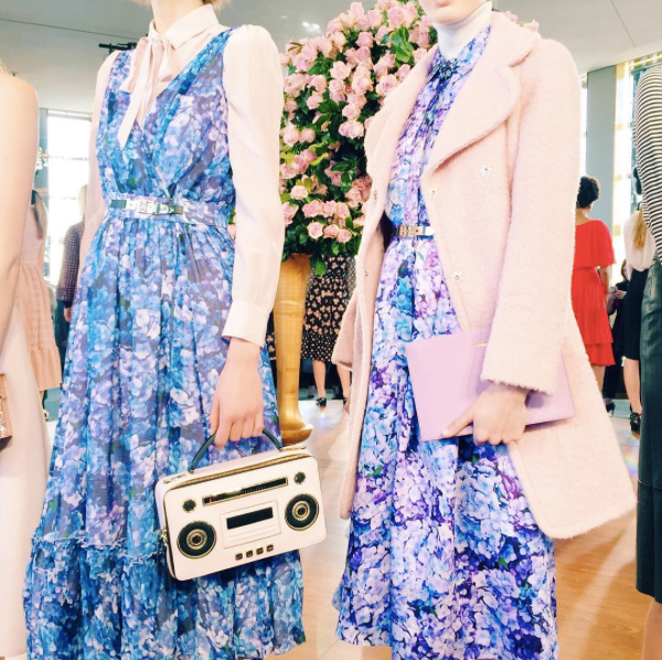 Favorite Colors (Pantone's colors of the year made an appearance at Kate Spade's New York Fashion Week presentation)