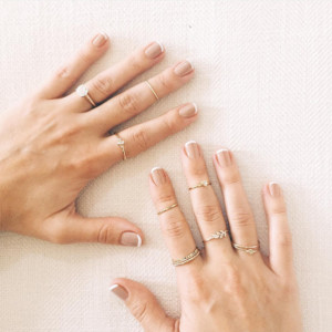 A new twist on the classic French manicure