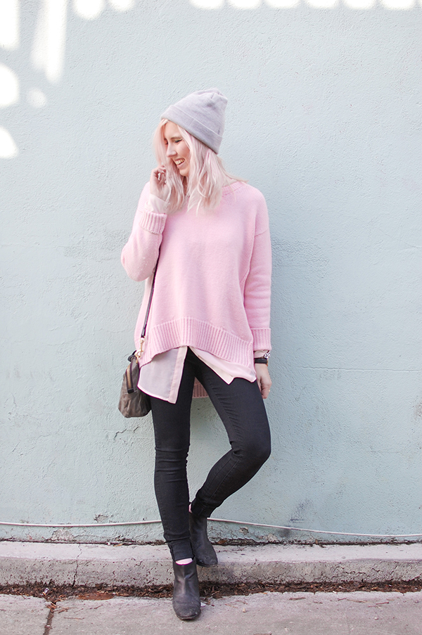 Be lovely in layers via Random Acts of Pastel