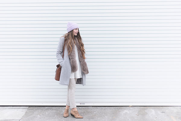 Rebecca Jacob, our latest Chic of the Week's, gorgeous winter outfit!