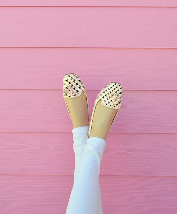 Pretty flats with tassel details