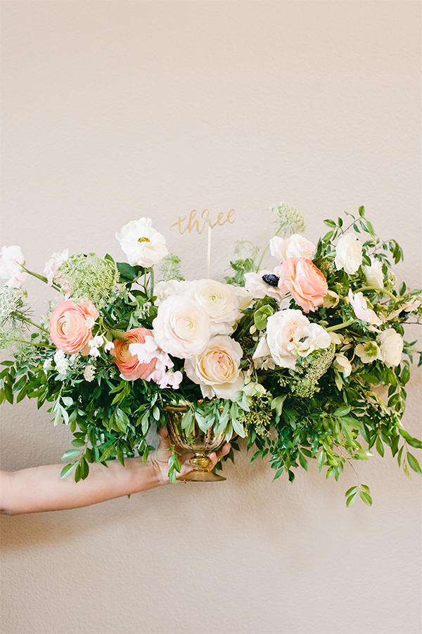 Chic DIY table numbers for the crafty bride